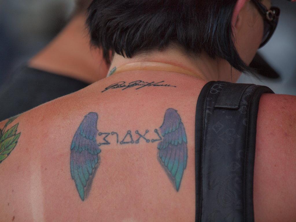Biker Wings tattoo
