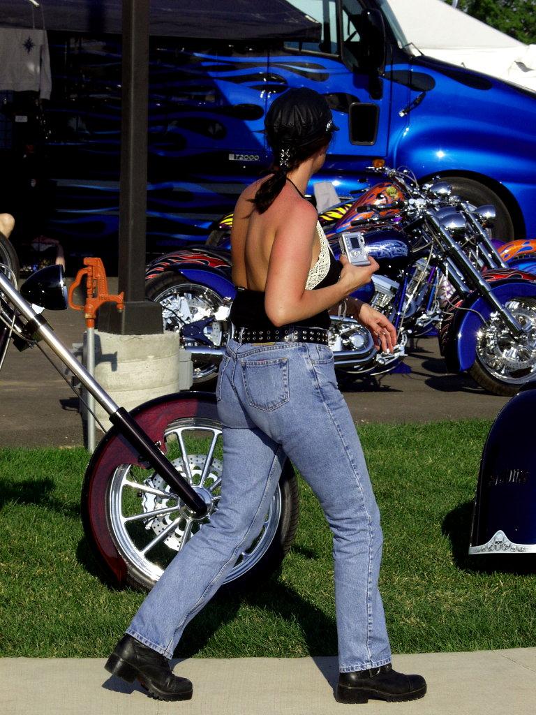 motorcycle looking