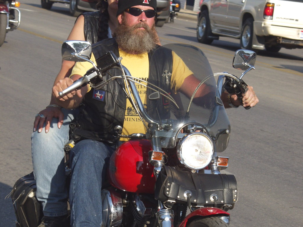 Biker in style