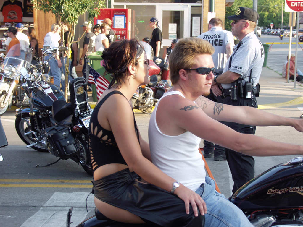 biker kids