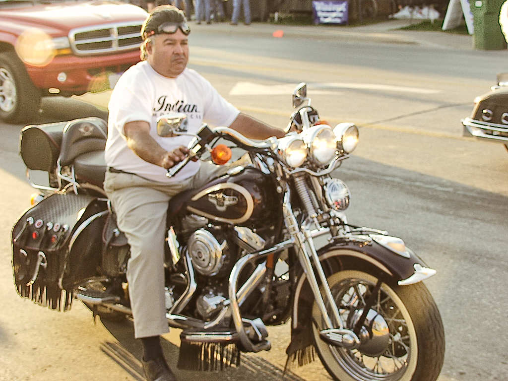 Indian Motorcycle Man