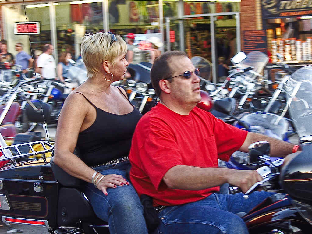 couple motorcyclists