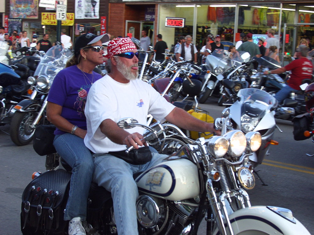 Two bikers