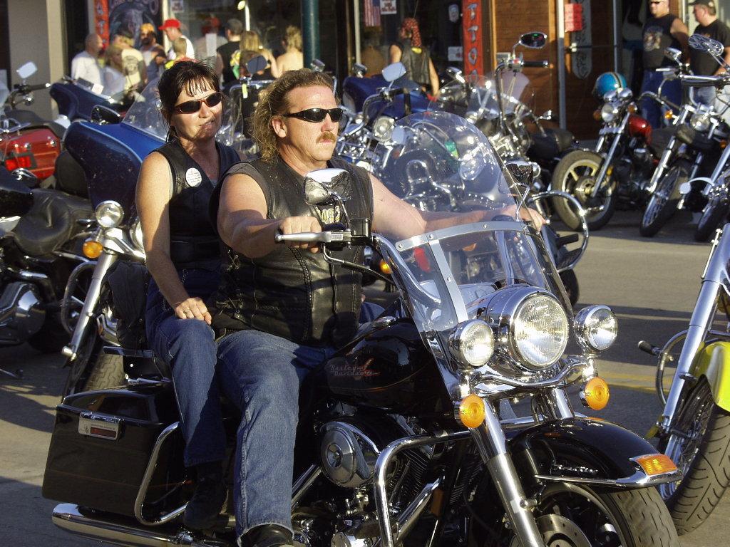 Motorcycle Pair