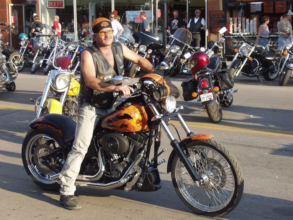Gold tank motorcycle