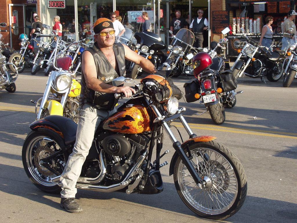 Sturgis Rally Biker