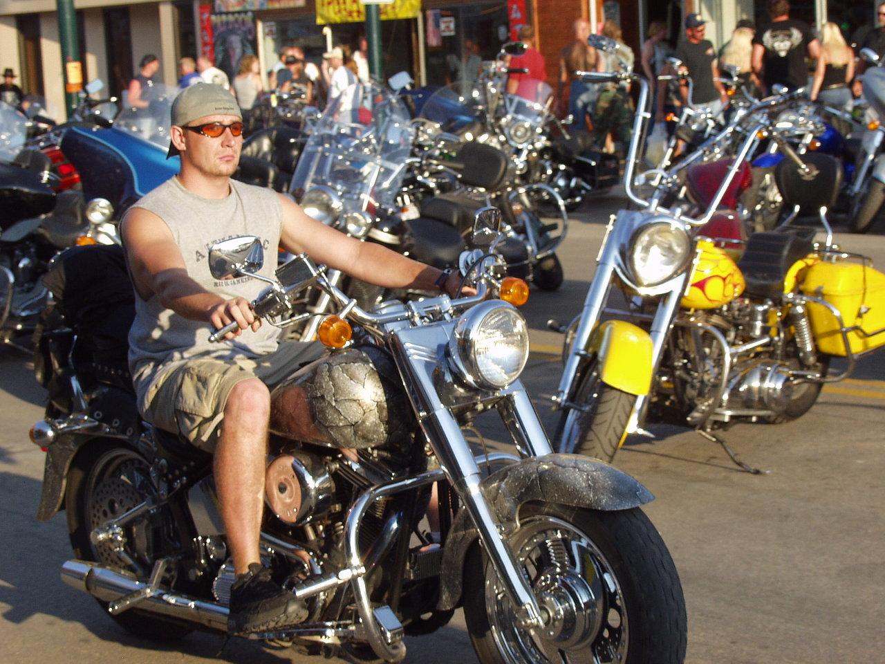Snakeskin Motorcycle