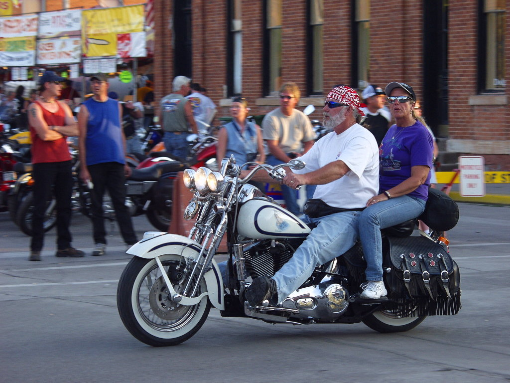 White Harley