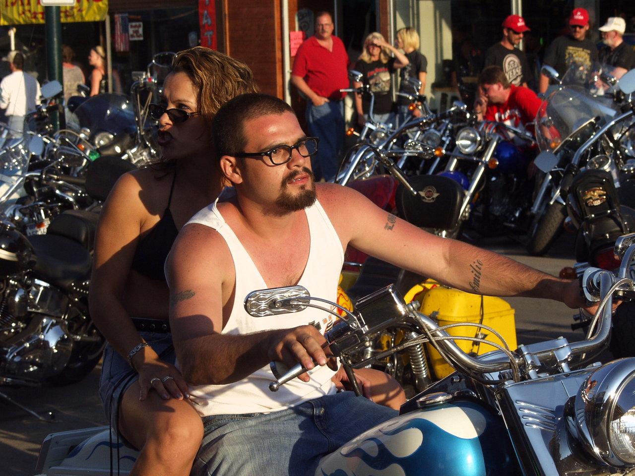 muscle shirt biker