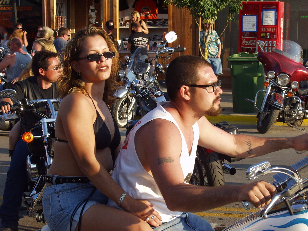 Couple Bikers
