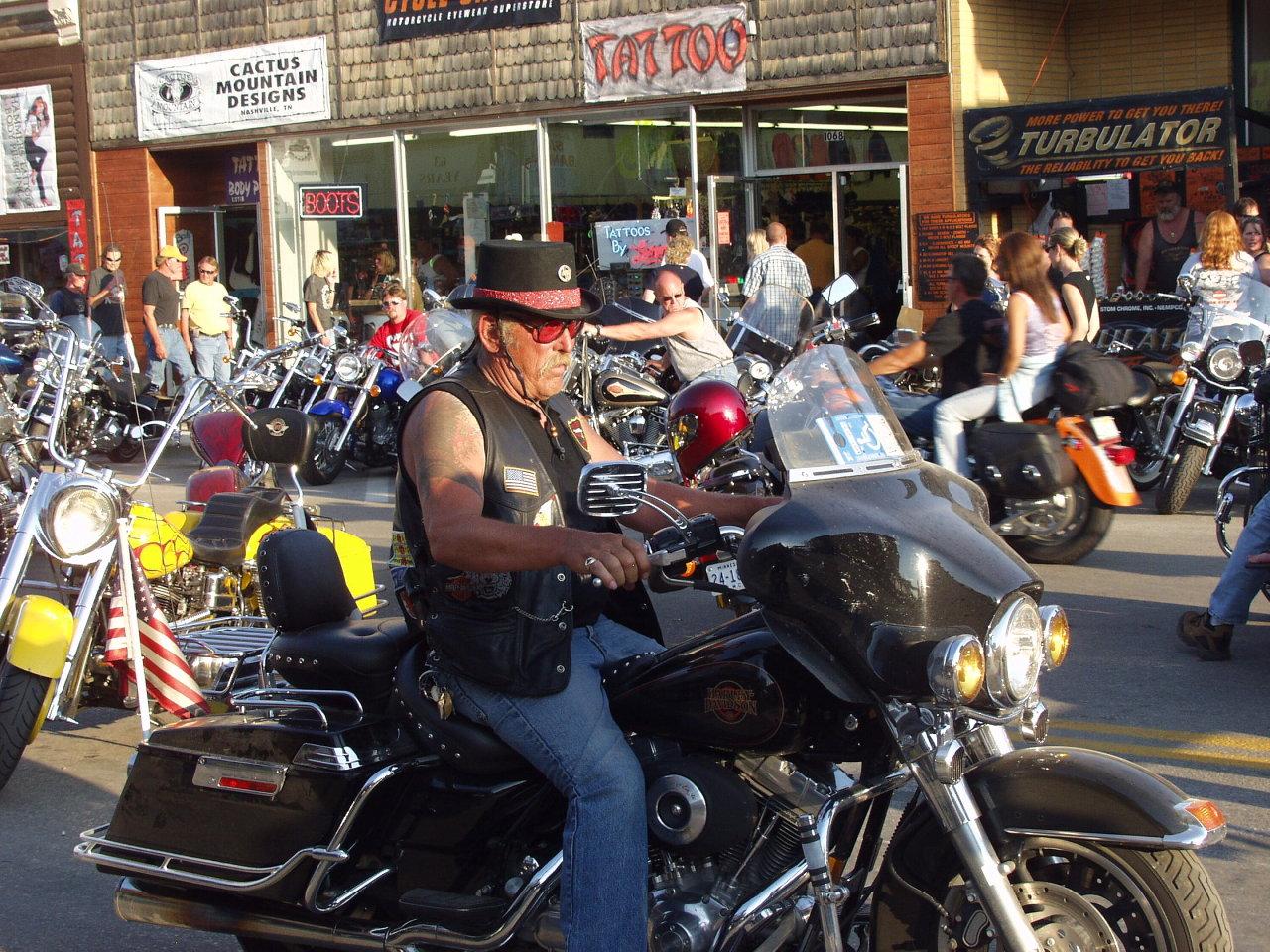 biker character