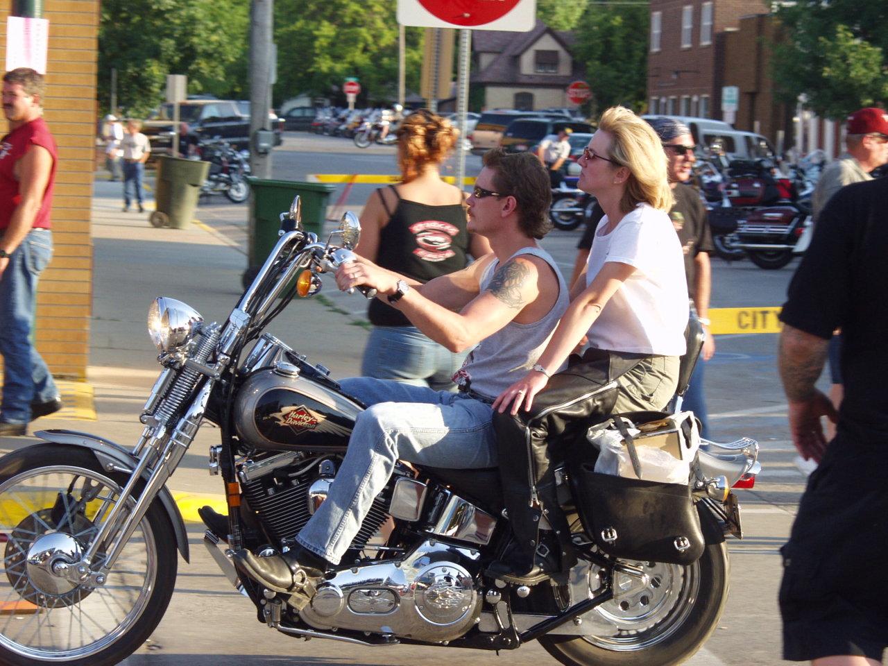 High Handle motorcycle