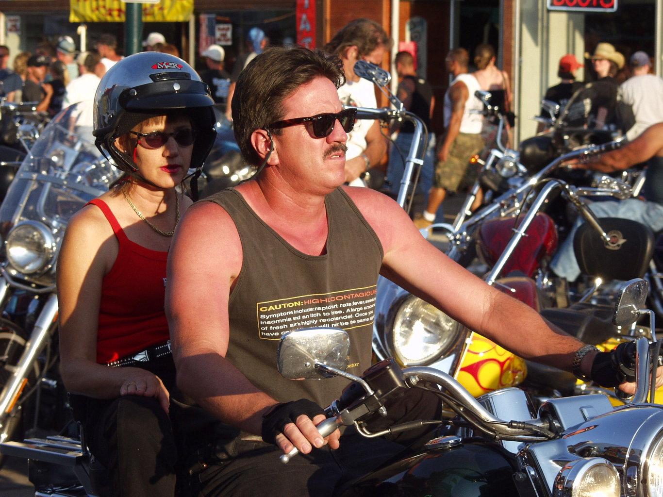 biker tan