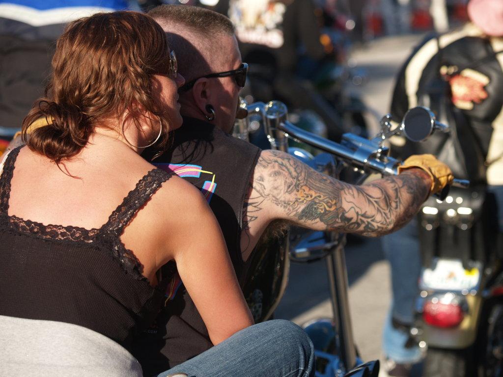 Biker Arm Tattoo