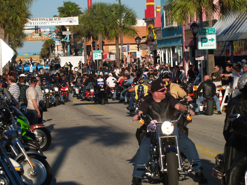 Daytona Bike Week Main Street