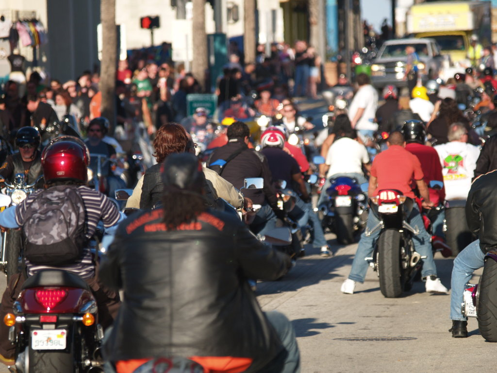 Daytona Bike Week street