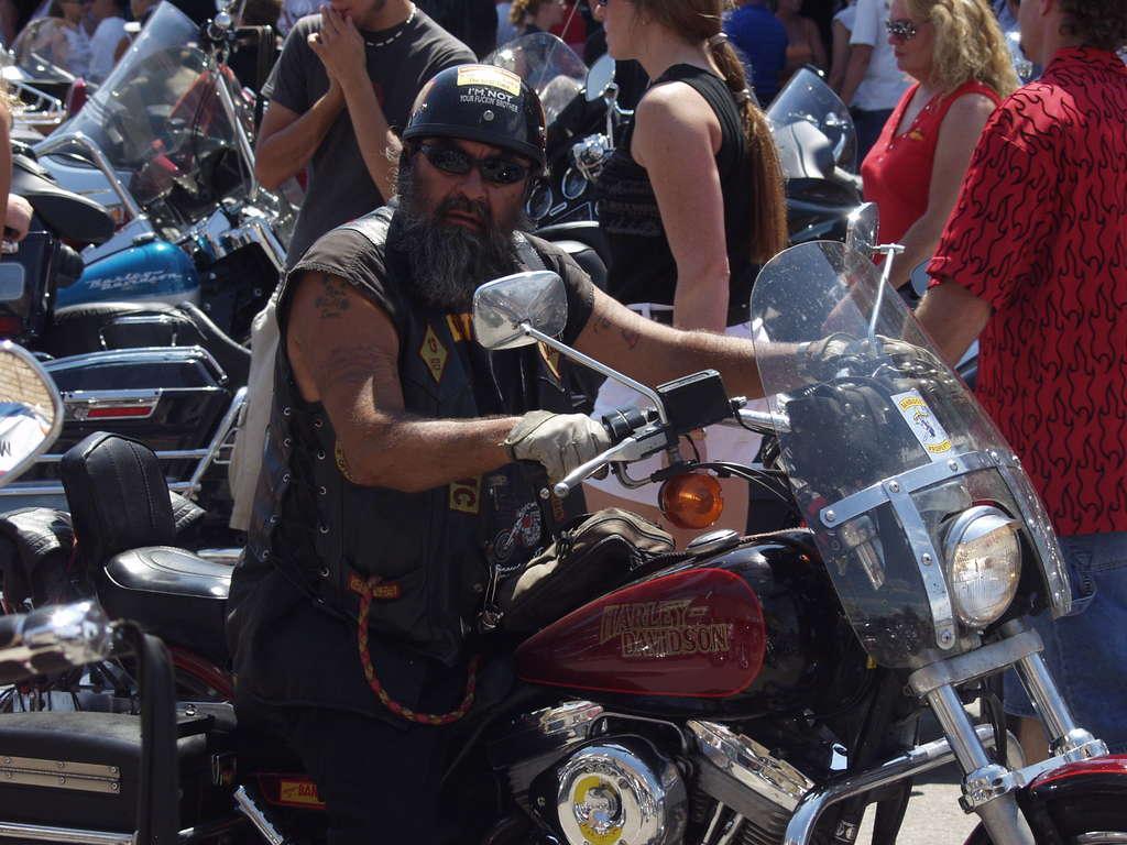 Biker grunge
