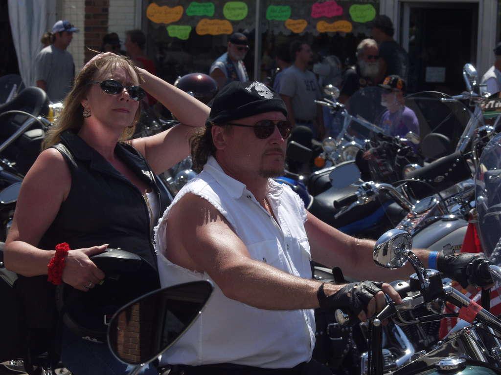 biker confusion