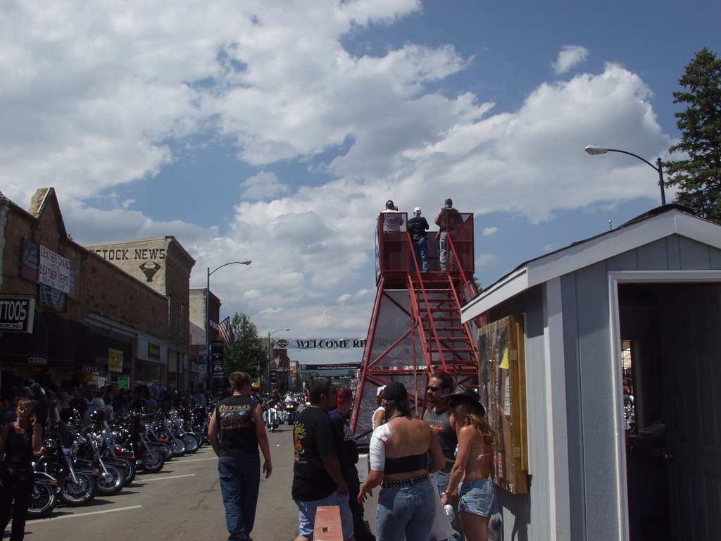 Sturgis Photo Tower