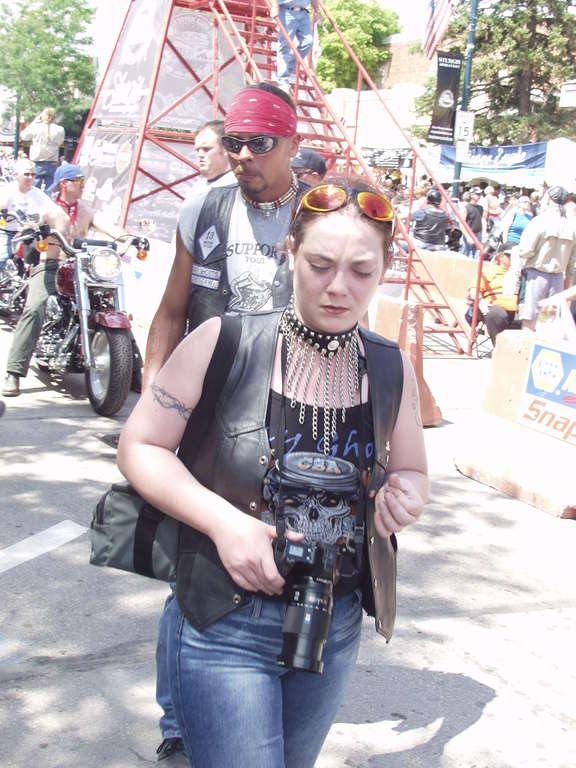 biker photographer