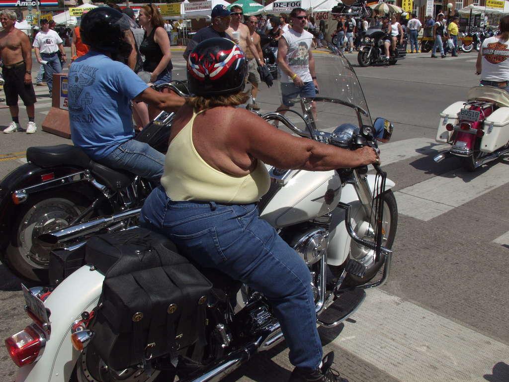 Riding Sturgis
