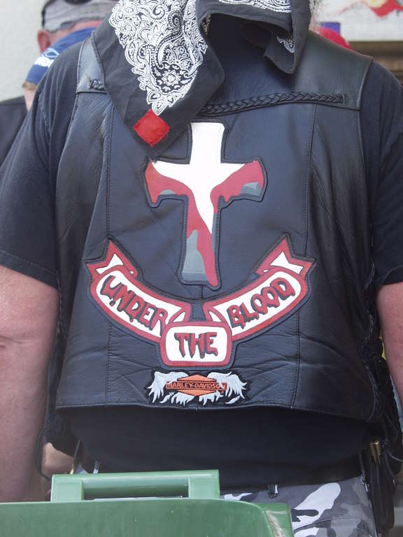 Christian biker Jacket