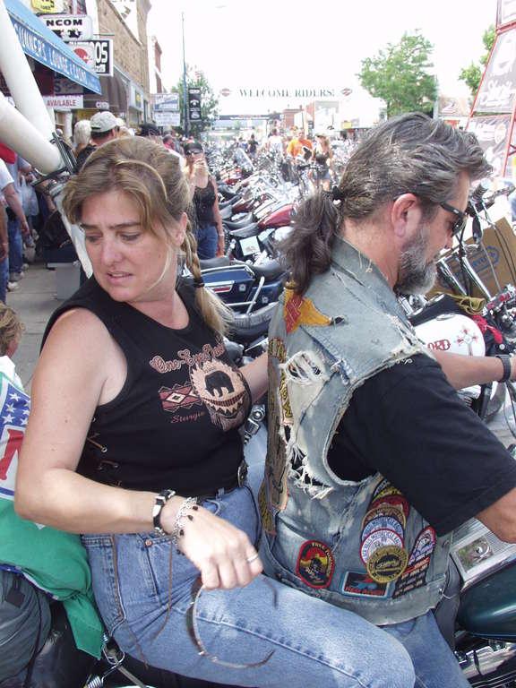 biker pair