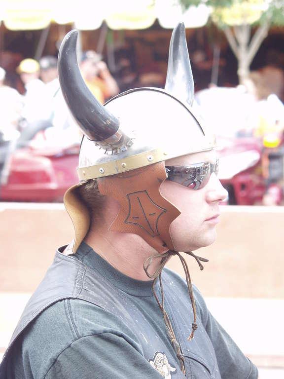 Horn Helmet