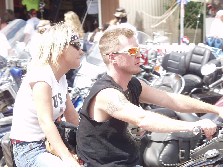 white bikers