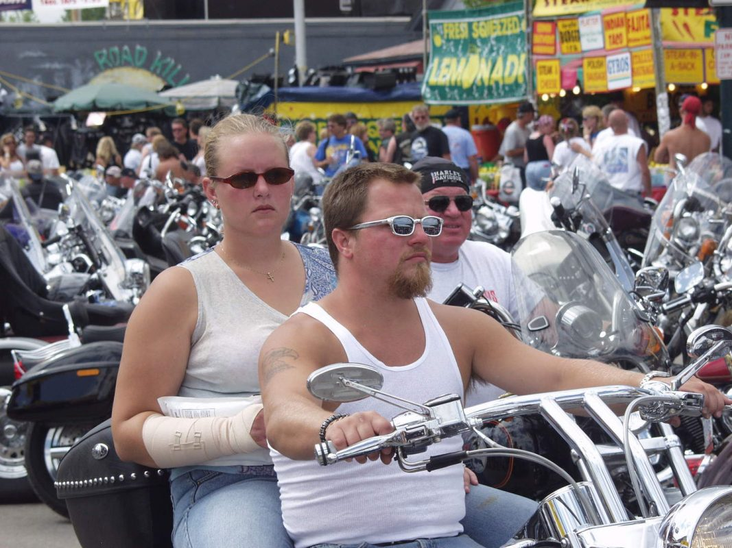 summer bikers