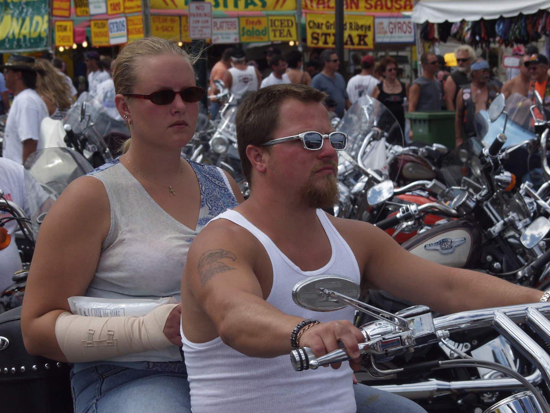 summer motorcycling