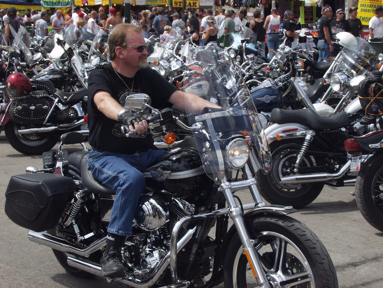 rally biker