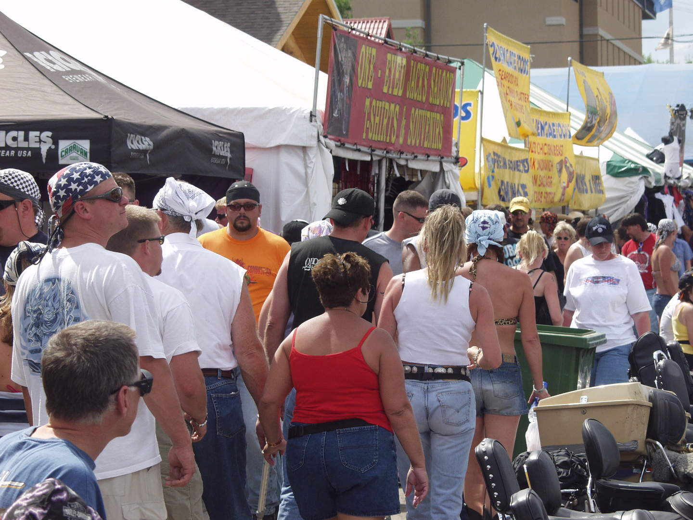 Rally crowd
