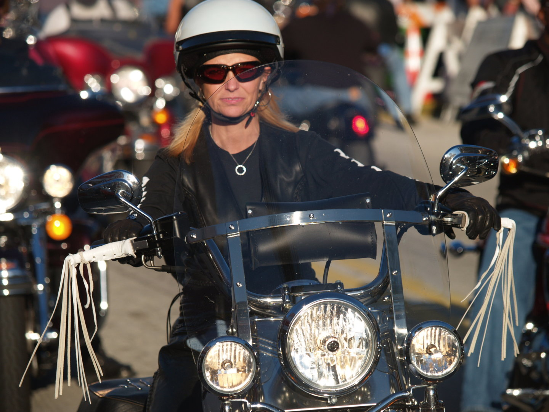 Upright biker