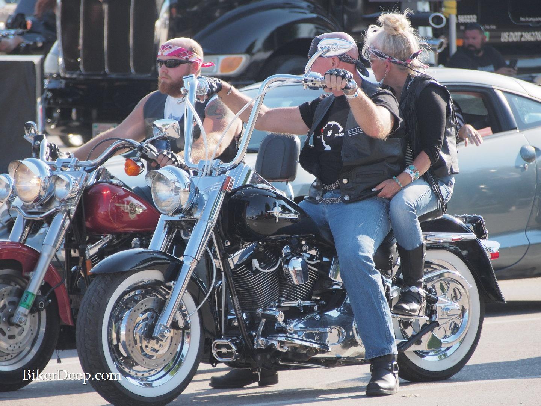 Shiny motorcycles