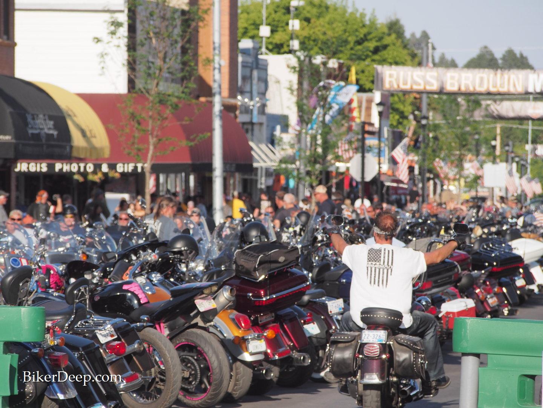 Motorcycle Street