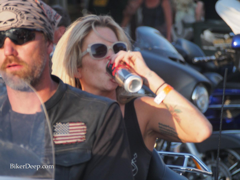 Red Bull drinker