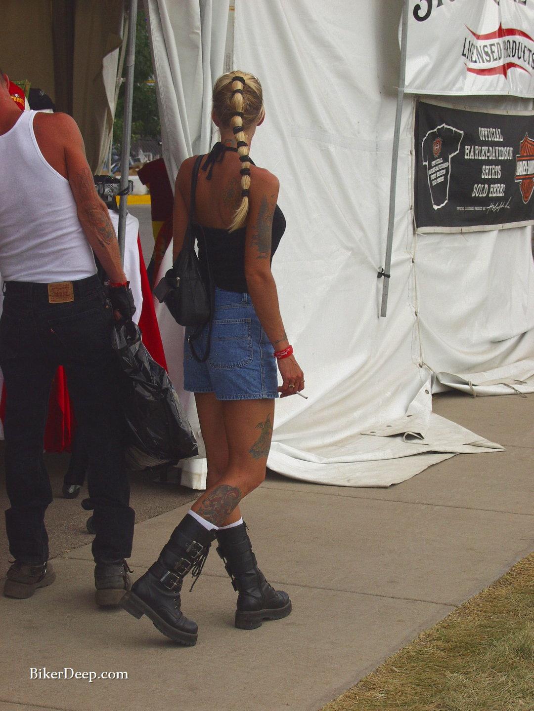 Biker Boot Woman