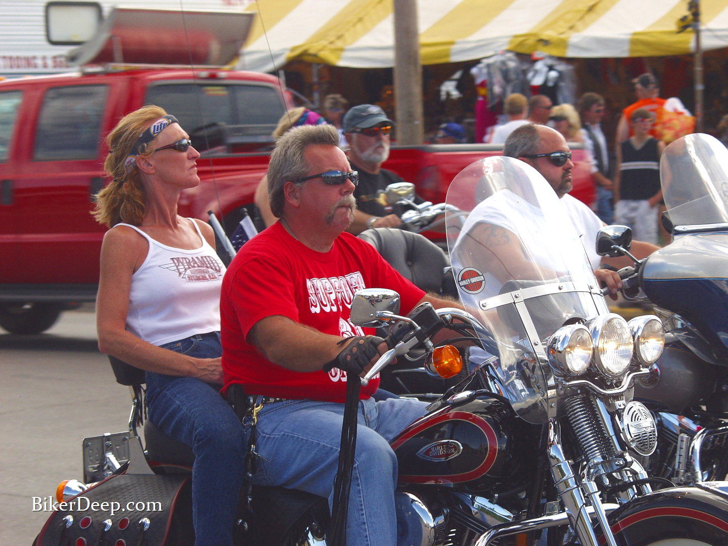Motorcycle in Sturgis