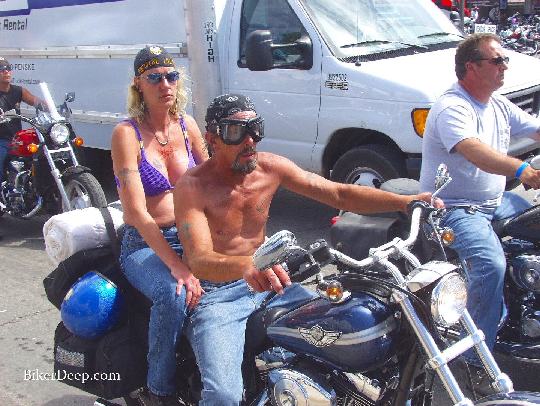 Cool Biker Couple
