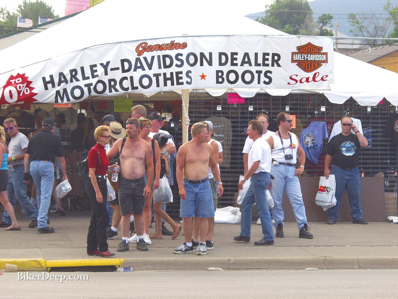 Harley Davidson Tent