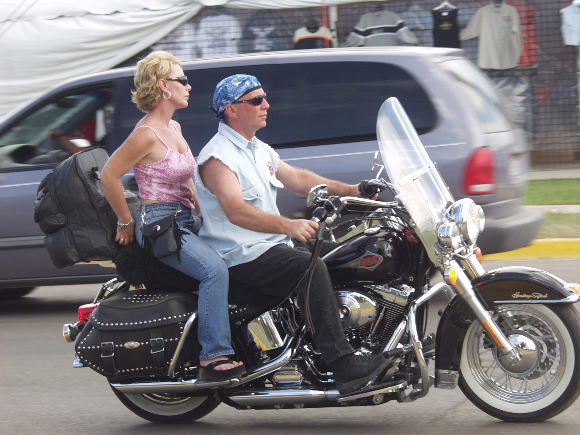 Two on Harley