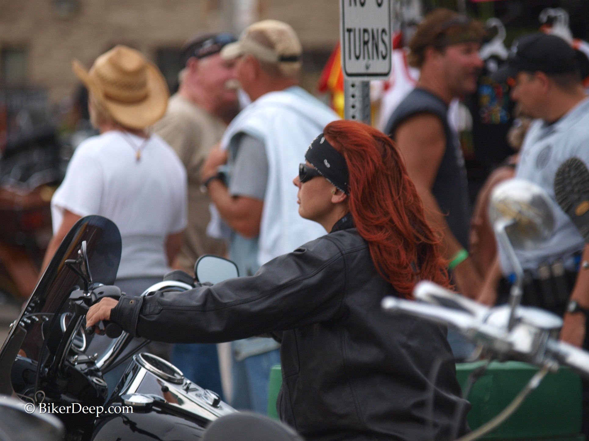 Red Haired Leather