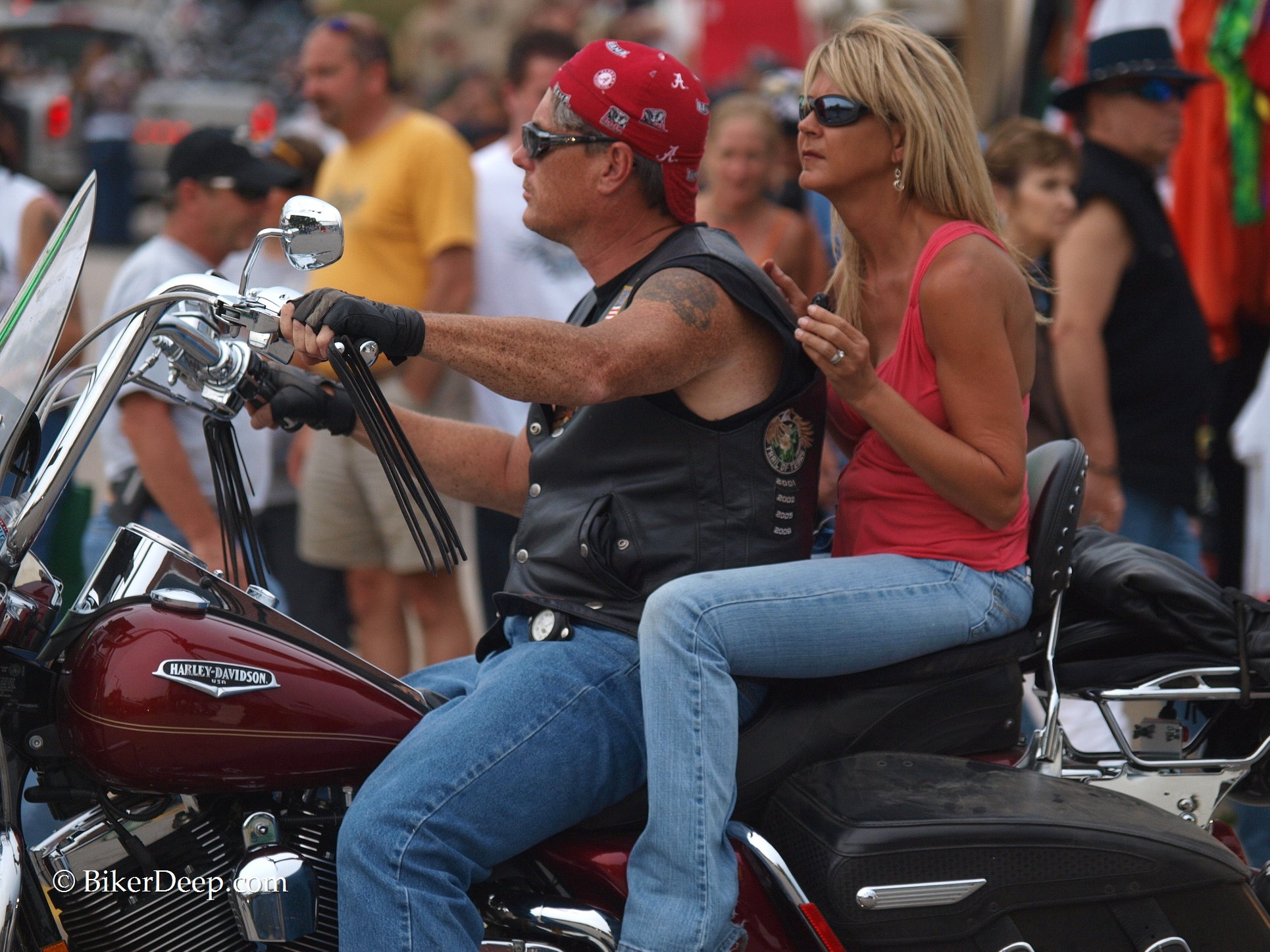 Harley Davidson Couple
